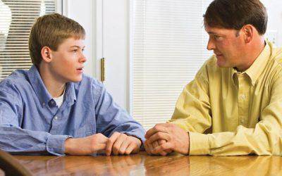 Kommunikation zwischen Eltern und Teenagern